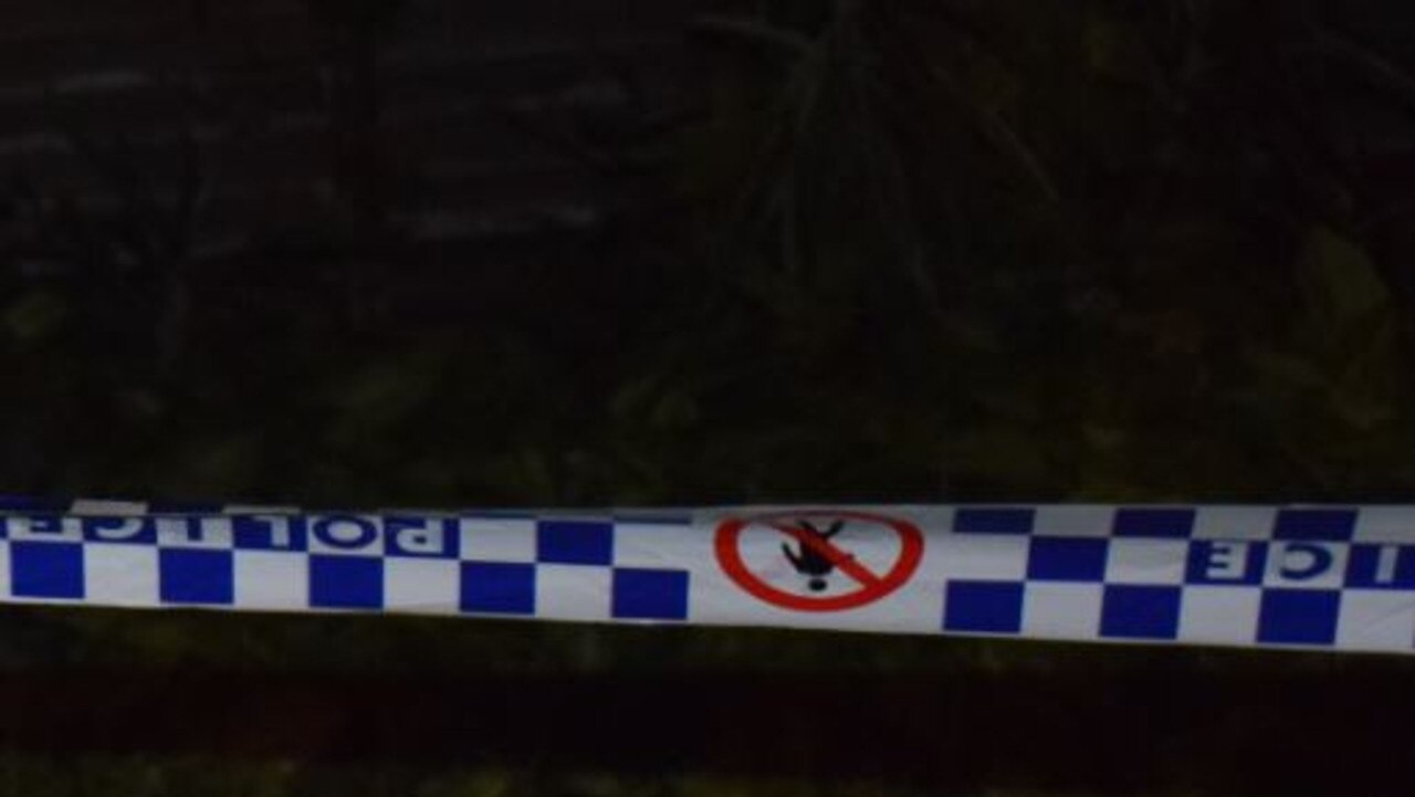 A man was allegedly stabbed in the chest at a Gympie region home on Monday night.