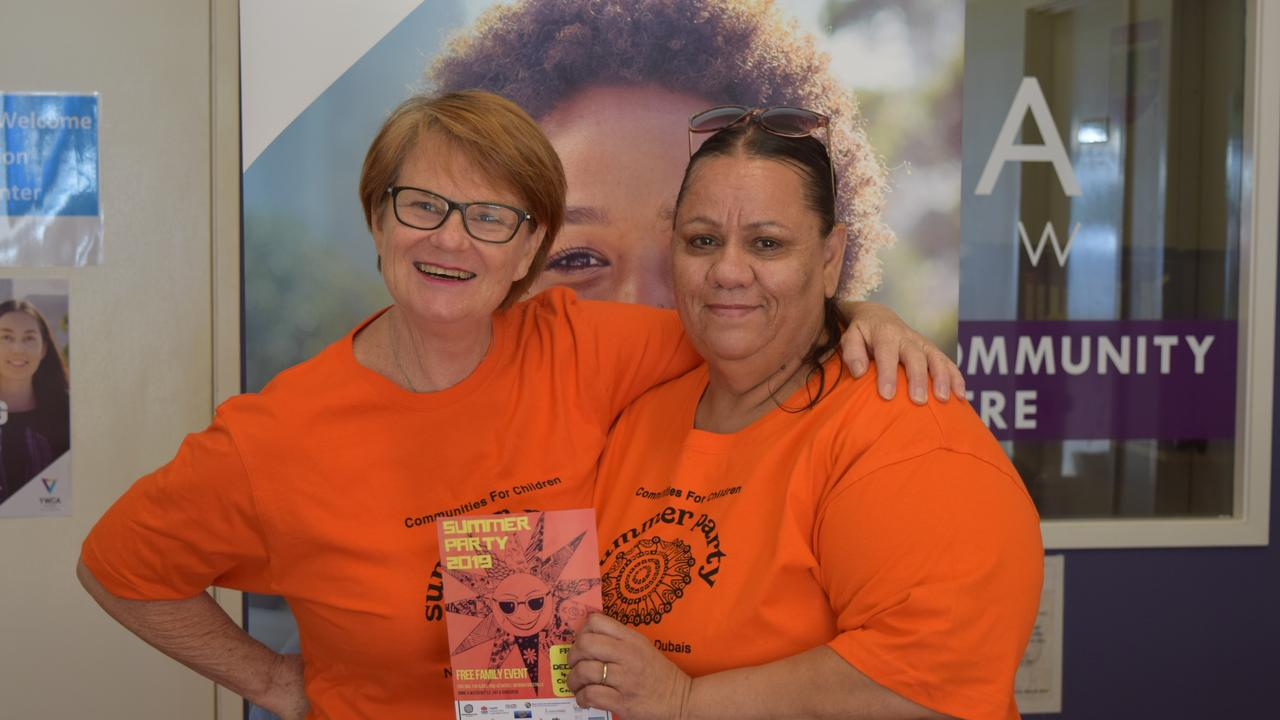 WELCOME SUMMER: YWCA's Northern NSW regional manager Louise Collins and Aunty Mim are encouraging residents to come out and welcome summer tomorrow at the annual Goonellabah summer party.