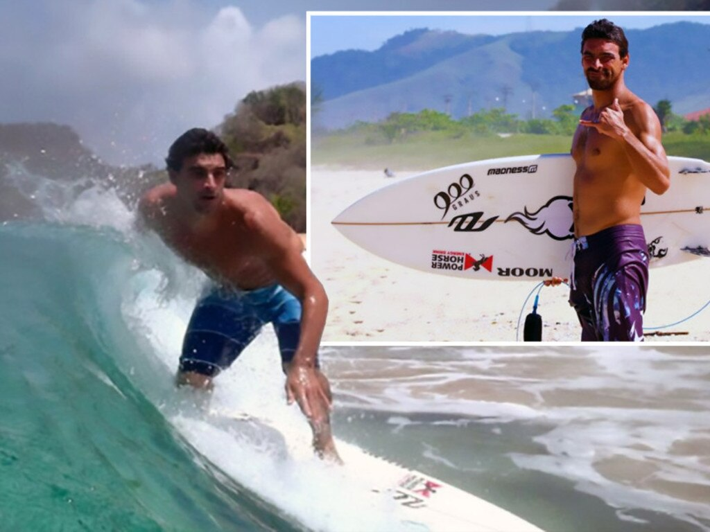 Leo Neves surfed on the world tour in 2007-08.