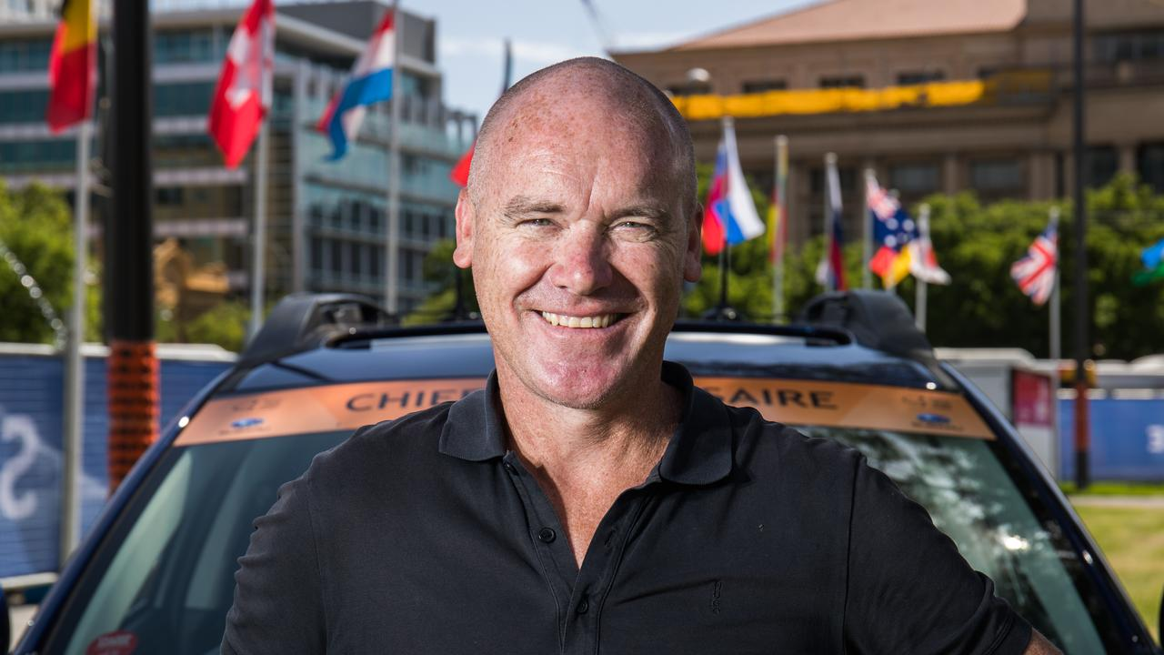 Stuart O'Grady is the new Tour Down Under race director. Picture: Matt Loxton.