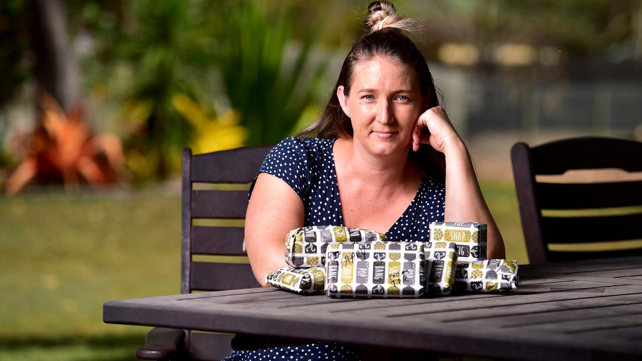 ADF have requested the public to donate to domestic charities, instead of sending car packages overseas. Ex serving, Renee Loch with gifts