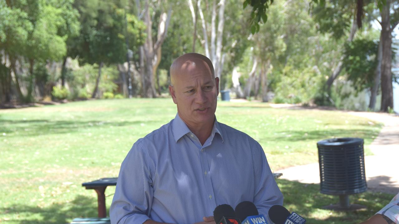 QUESTIONS ASKED: Visiting Rockhampton, Shadow Minister for Transport Steve Minnikin is questioning by the Queensland Government's Bruce Highway Trust, hasn't held one meeting despite being promised more than two years ago.