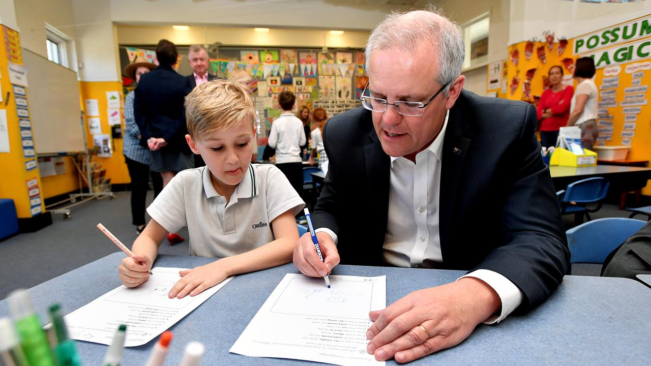 Despite a significant increase in school funding, Australia's academic results continue to decline. Picture: AAP Image/Joel Carrett