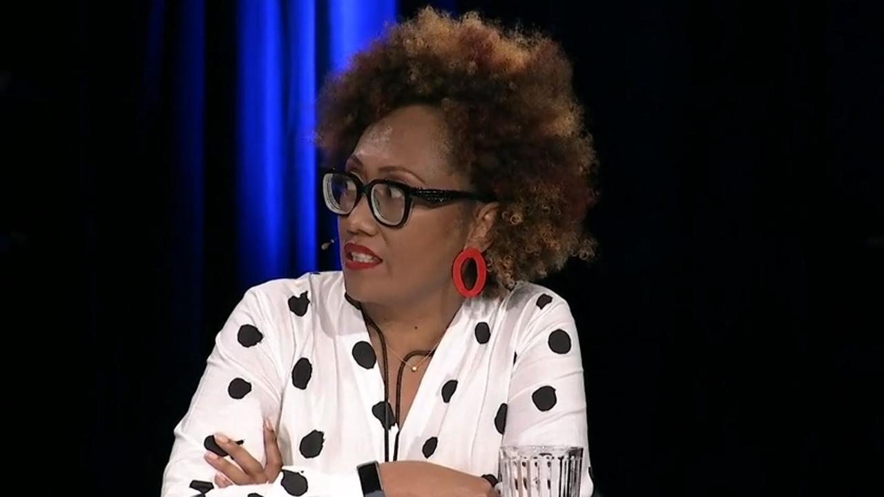 Virisila Buadromo speaks on ABC's Qanda. Picture: ABC