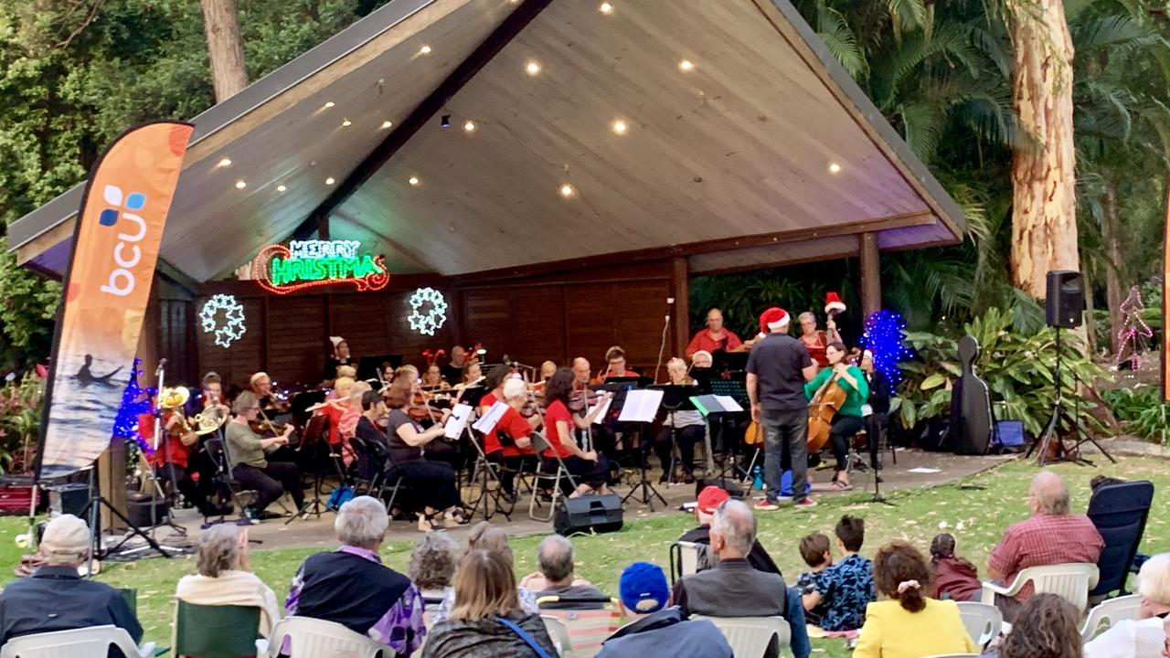 Coffs Harbour City Orchestra will perform at the North Coast Regional Botanic Garden.