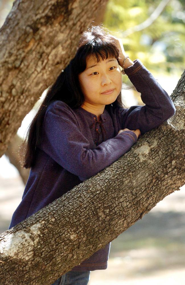 Megumi Ogawa, pictured in 2004, has been fighting through Australia's court system for 15 years. Picture: Lyndon Mechielsen
