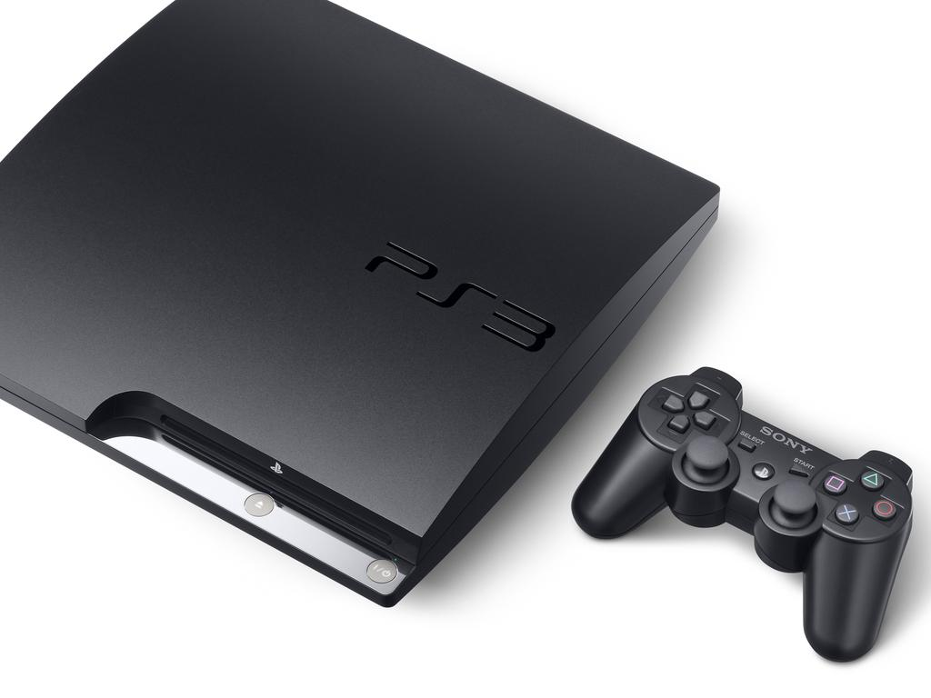 The slimline PlayStation 3 (PS3) console. Picture: Supplied