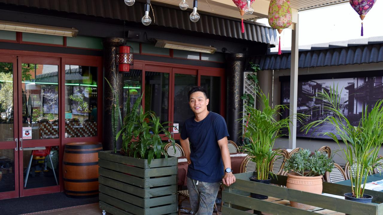 IN FIVE short weeks Ethan Lim has transformed the space where popular restaurant La Vida once stood into an Asian inspired wonderland.