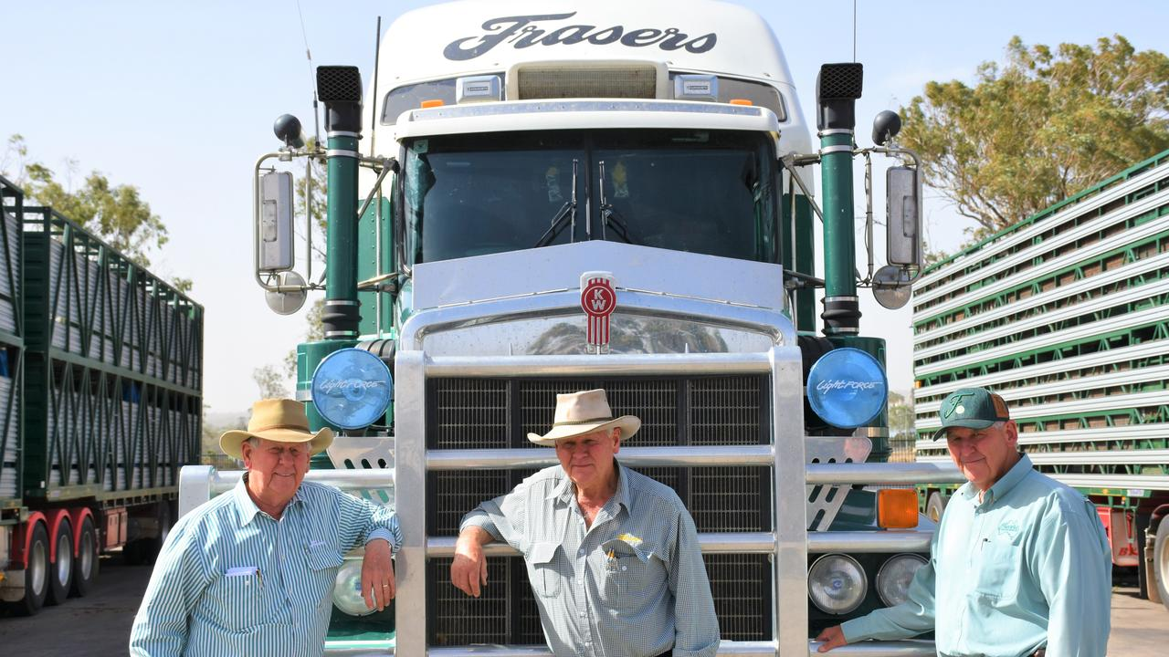 FAMILY BUSINESS: Ross, Les and Peter Fraser at the helm of the Frasers empire.