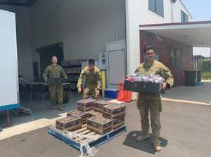 How the Australian Army is helping with fires