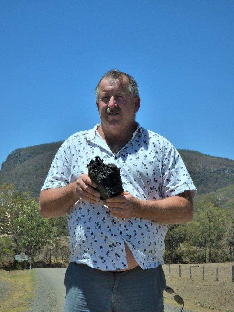 ENVIRONMENTAL CONCERNS: Tony Pearson fears for the health of the gorge ecosystem.