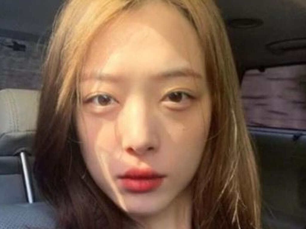 K-Pop singer Sulli was found dead in South Korea. Picture: Instagram