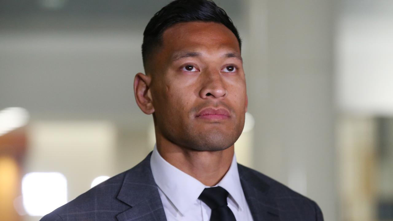 Israel Folau and RA have finally settled.