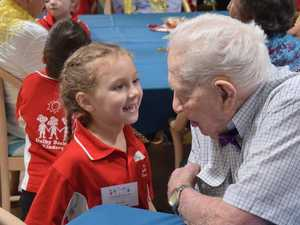 Dalby kindy students bring Christmas joy to aged care residents