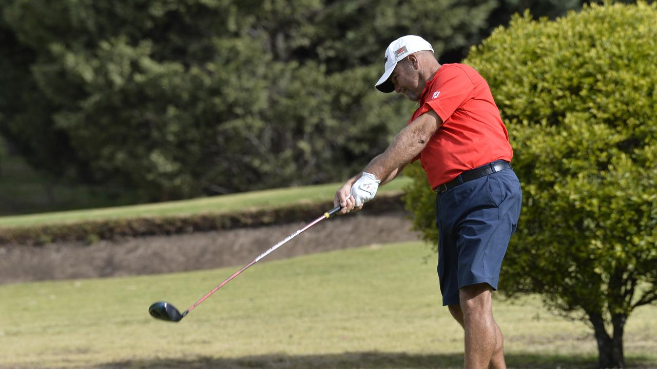 Brad Burns is ready for the Sunshine Coast Masters which tees-off on Wednesday. Picture: Kevin Farmer
