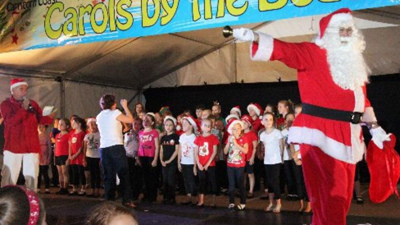 Santa will make a visit to Carols by the Beach