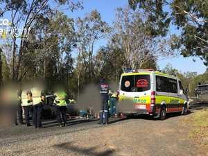 Teenager injured in motorbike crash
