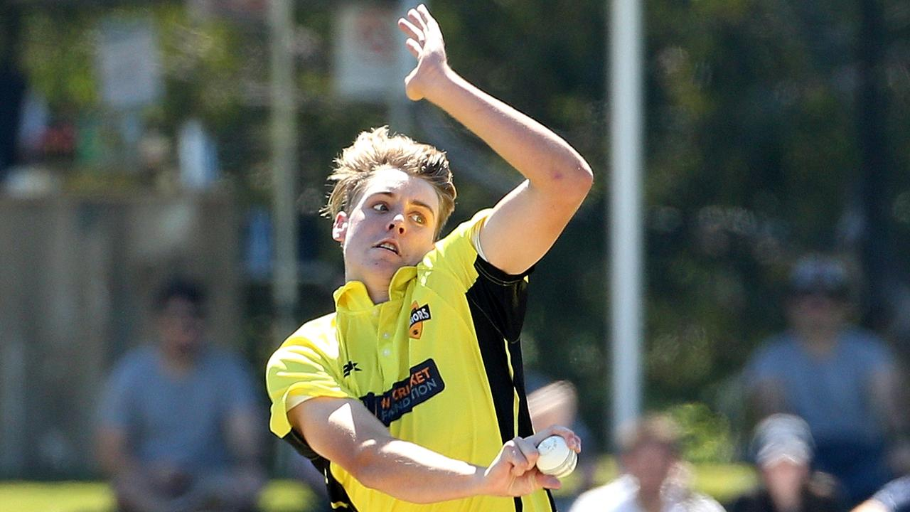 Cameron Green has 28 Sheffield Shield wickets in 11 games. Picture: AAP/Hamish Blair