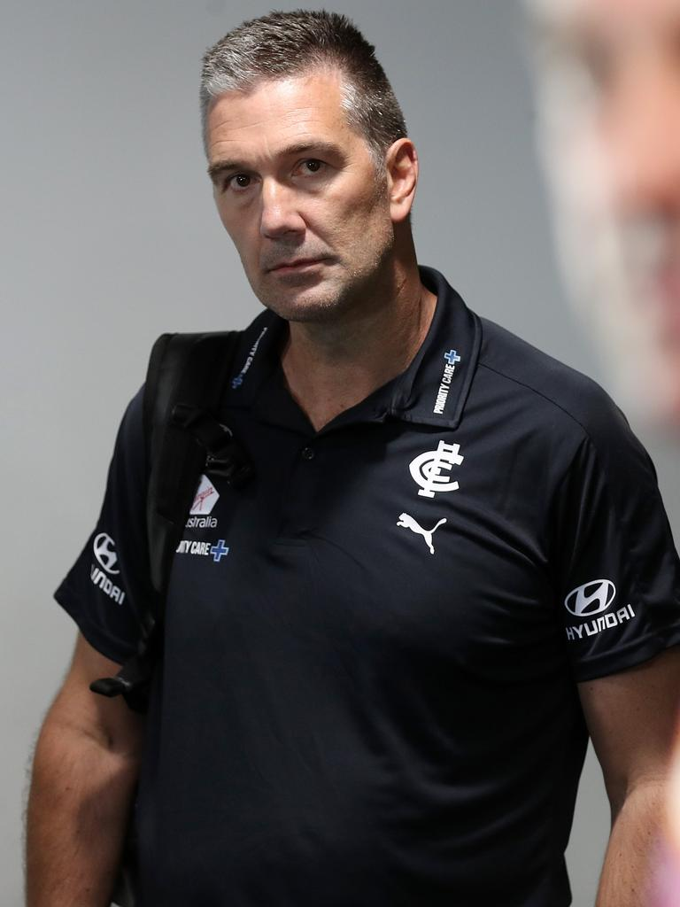 Stephen Silvagni at last week's national draft. Picture: Michael Klein