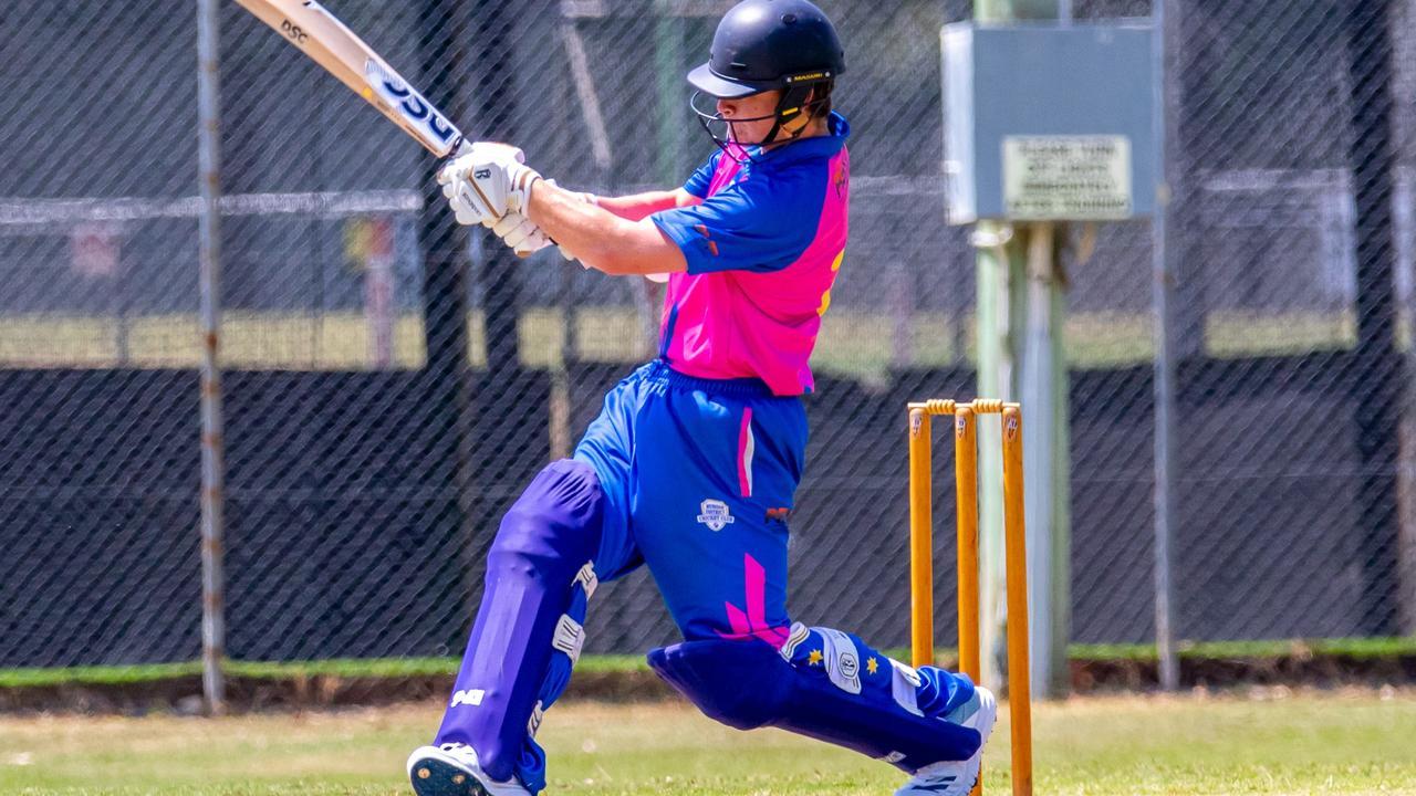 Gympie Regional Cricket - Harlequins v Murgon Murgon Matthew Springate. Photo: Zahner Photography
