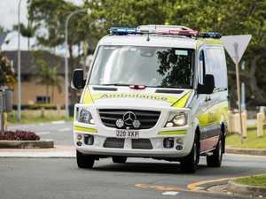 Car v motorbike crash in Bay