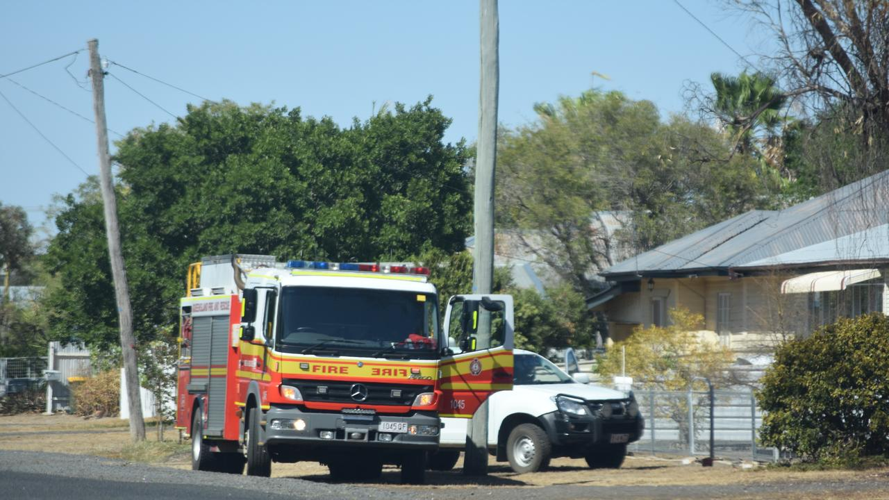 EMERGENCY: A male patient is reportedly being flown from Dalby hospital after a vehicle fell on him this morning.