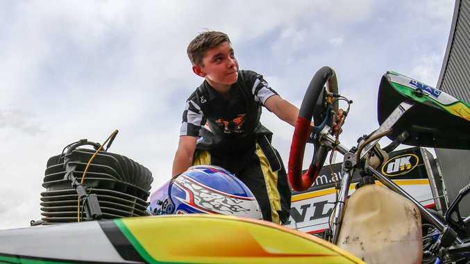 Young karter speeds to national success