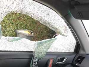 Suspects smash into cars at Mon Repos, use stolen bank cards