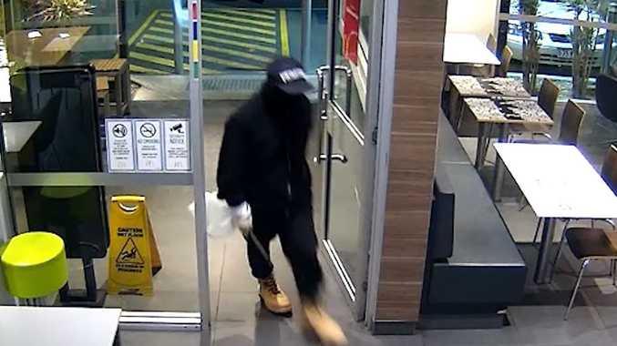 Man charged following McDonald's heist