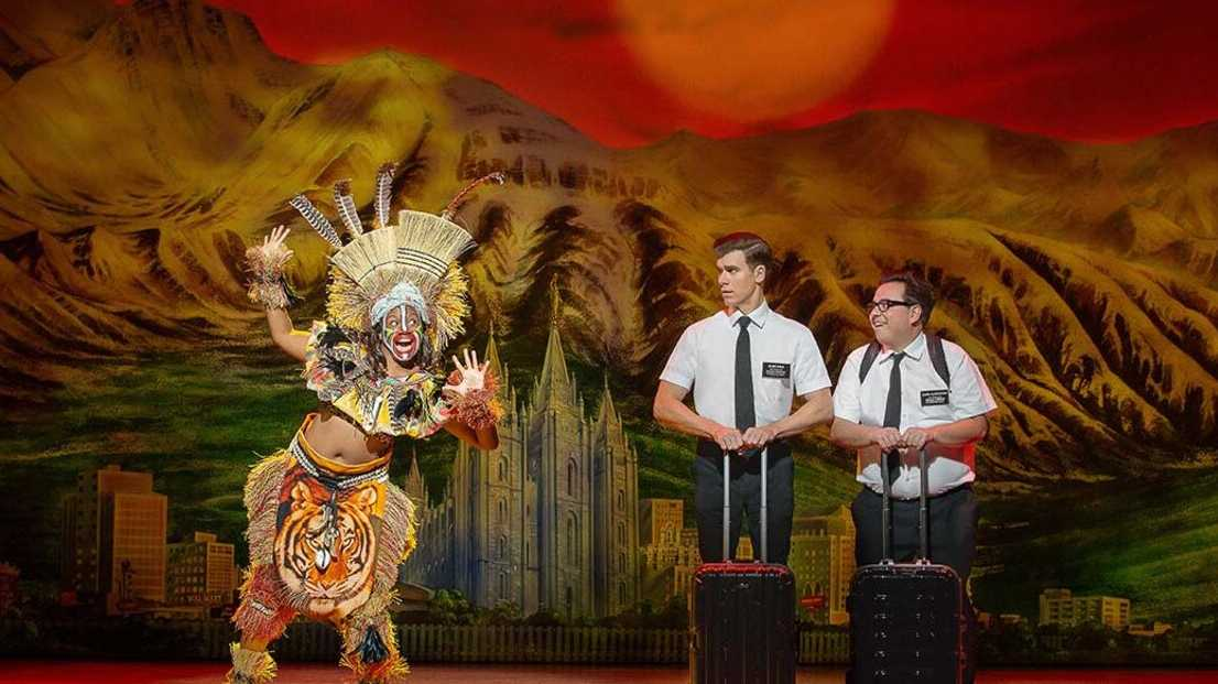 Blake Bowden and Nyk Bielak are coming back to Queensland with The Book of Mormon.