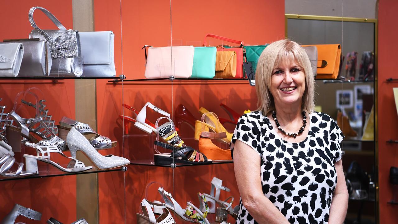 Debbie Brine at Shoes on East.