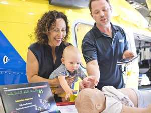 Grandma donates $6K to save critically sick babies