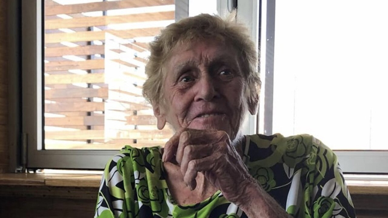 FIERCELY INDEPENDENT: Ellen Becker (80) moved around a lot but Biloela is where she lived the longest and called home.