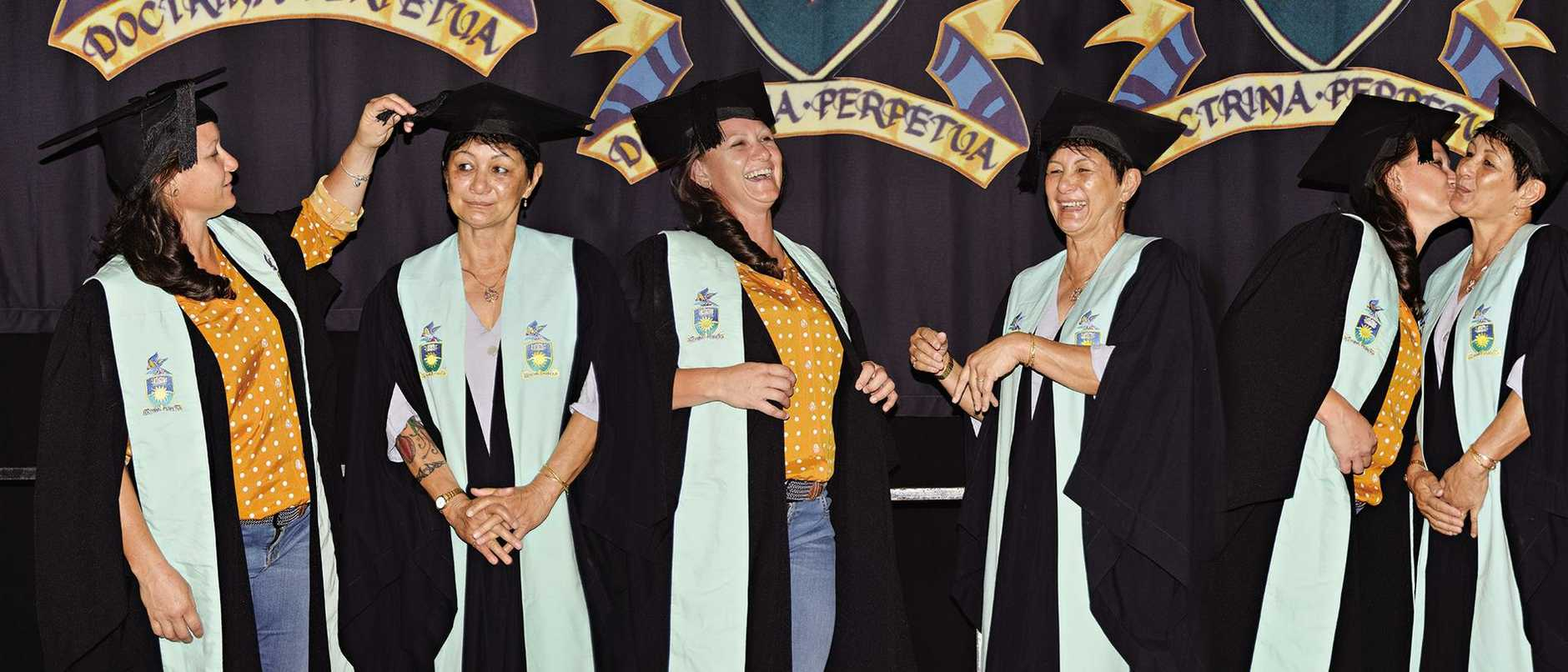 Jana Zavazal and her mother Suyin Ruback graduate from CQUniversity