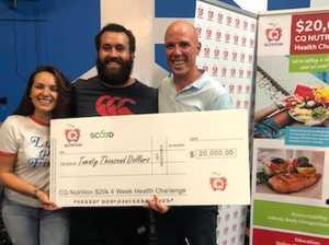 CQ man wins $20k after November weight loss challenge