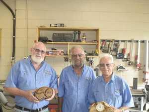 Woodworkers chip in for RFS volunteers