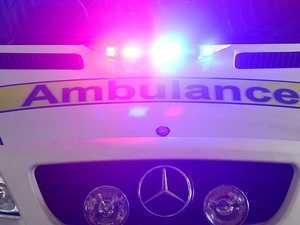 Man seriously injured after peak-hour motorbike crash