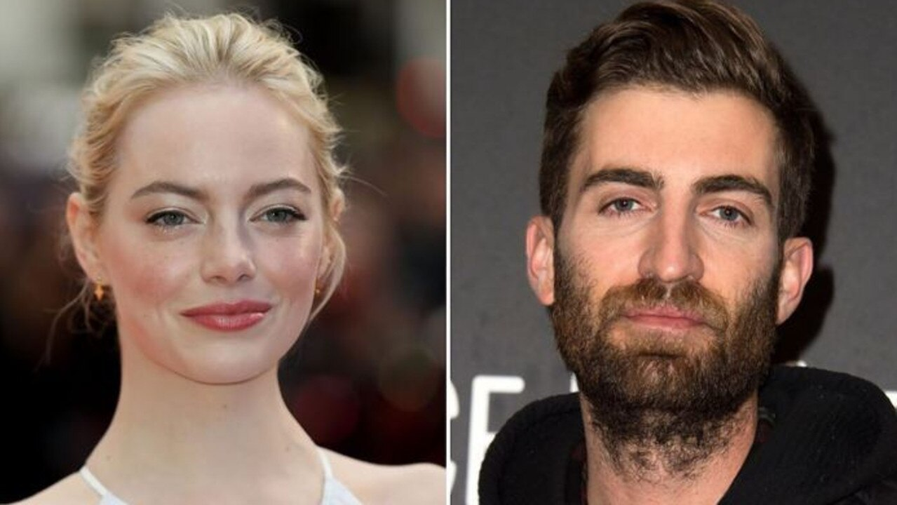 Emma Stone and Dave McCary have been linked since 2017. Picture: Getty.