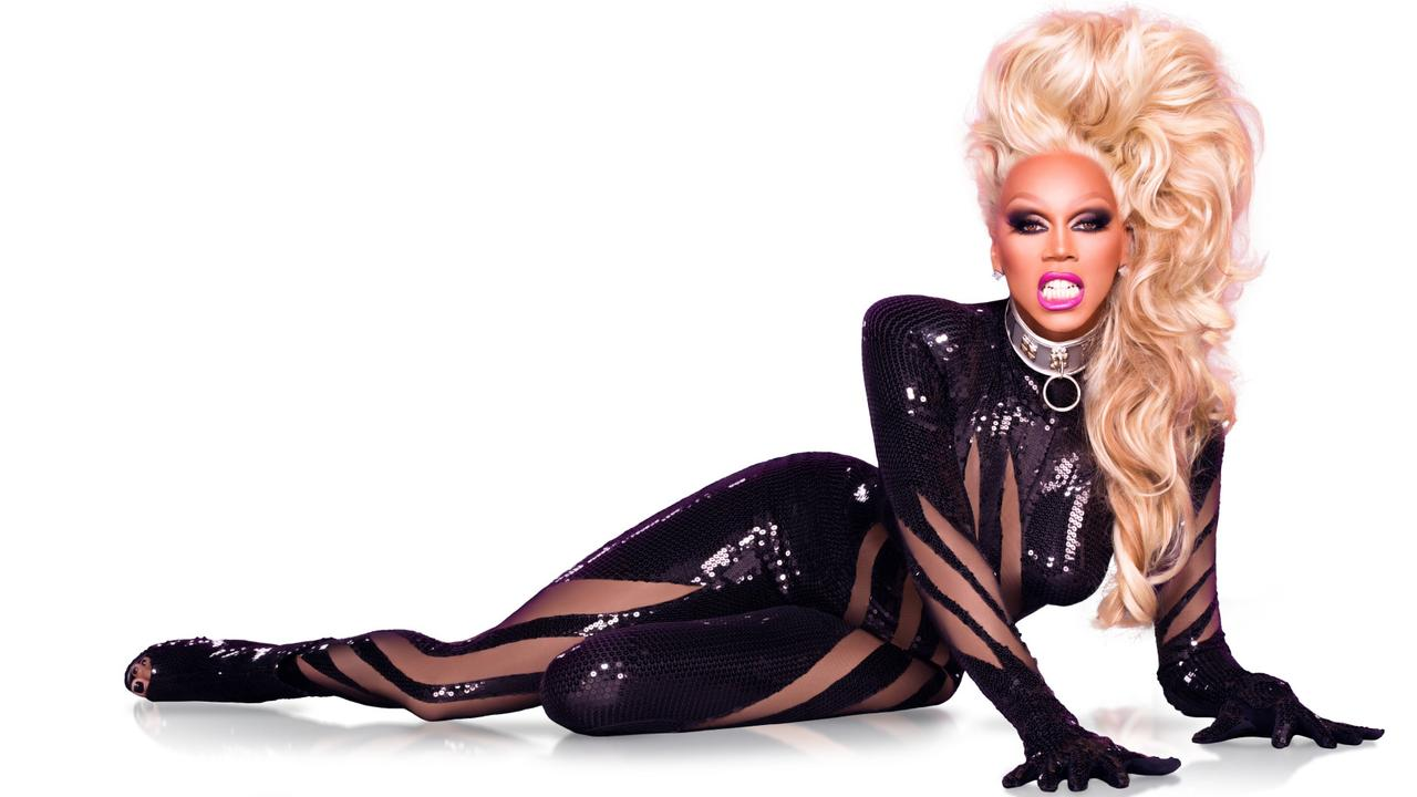 RuPaul for hit international TV show, RuPaul's Drag Race.