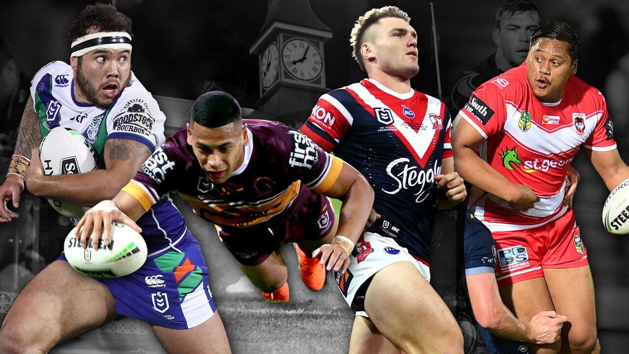 Predicted NRL 17s for Round 1 in 2020.