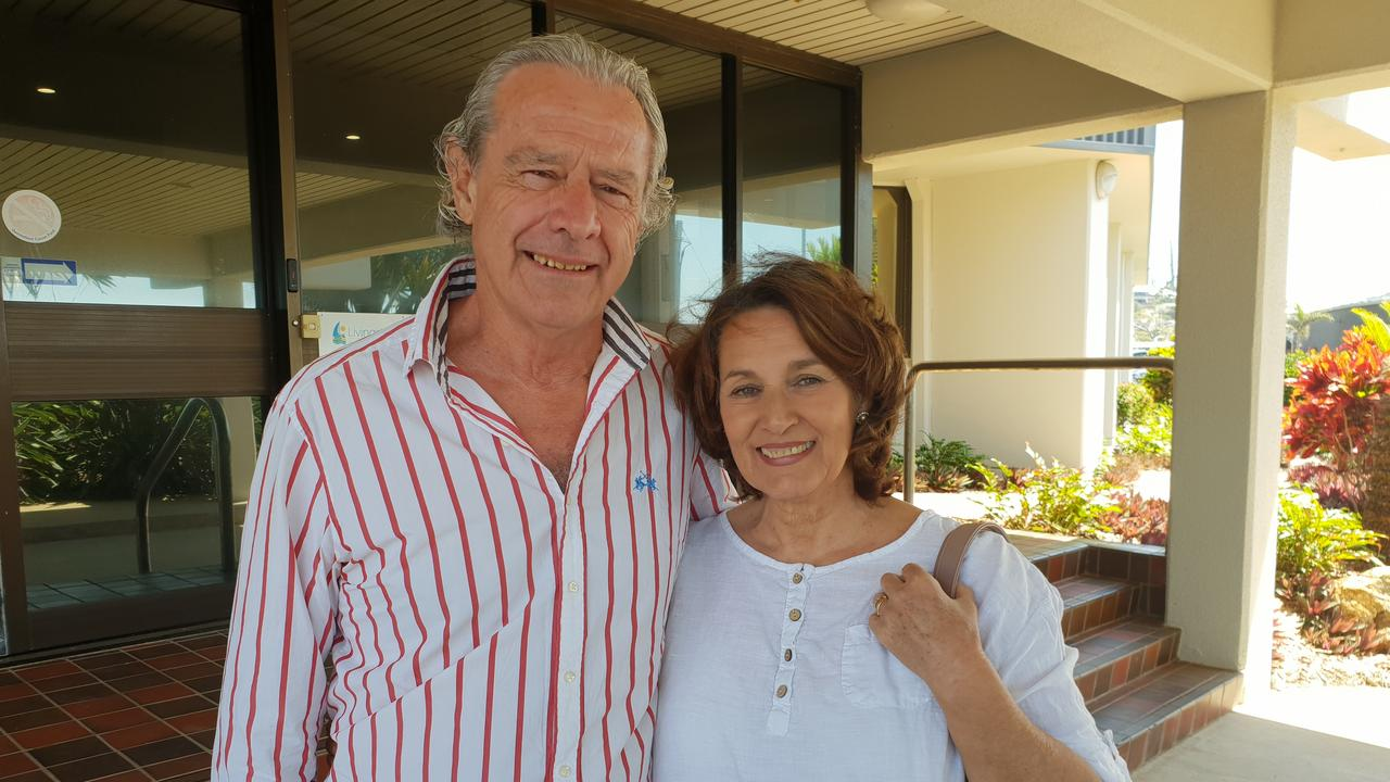 COMPROMISE REACHED: Colin and Monica Roebuck's long battle with Livingstone Shire Council is now finally over.