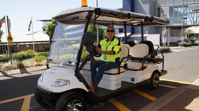 Sweet new ride for Toowoomba Hospital patients