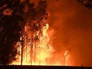 Fears properties lost in fierce Downs fire