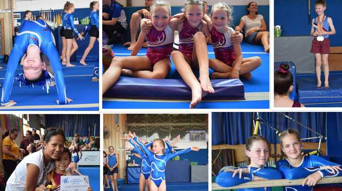 220+ MEGA GALLERY: Gymnastics competition