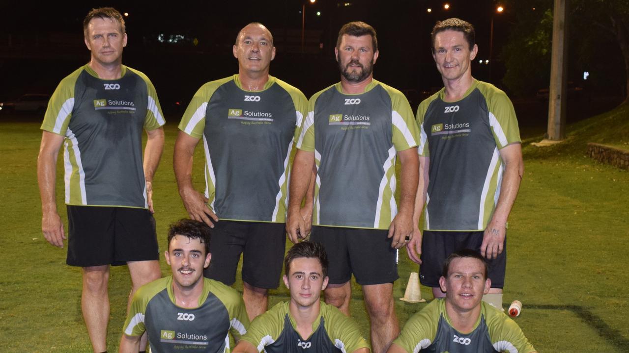Touch Finals - Men's A Grade winners,