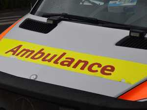 Driver sustains spinal injuries after crashing into a tree