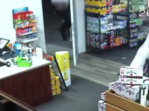 WATCH: As brave shop-keeper fights off a terrifying robber