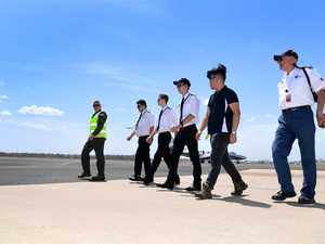 CQUniversity Aviation students