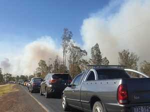 PREPARE TO LEAVE: Patrick Estate, Split Yard Creek fires