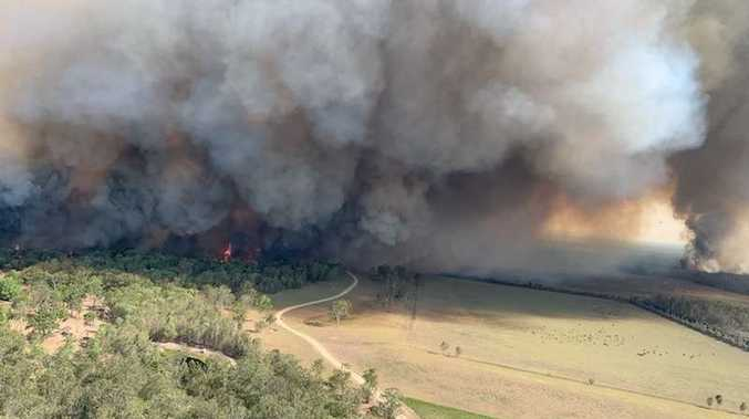 Hot and dry conditions increase fire activity